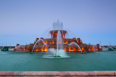 Buckingham Fountain. Royalty Free Stock Photo