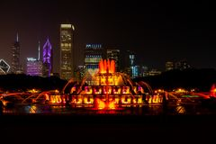 Buckingham Fountain Chicago royalty free stock images