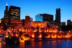 Buckingham Fountain, Chicago Stock Photos