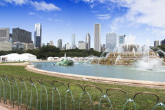 Buckingham Fountain Royalty Free Stock Photo