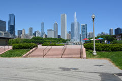 Buckingham Fountain in Chicago Stock Photos