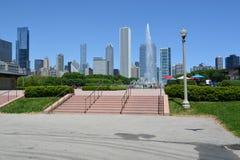 Buckingham Fountain in Chicago Stock Photos