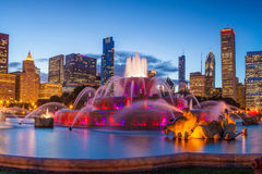 Buckingham fountain Stock Images