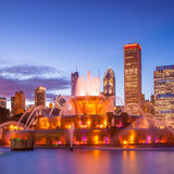 Buckingham fountain Royalty Free Stock Photography