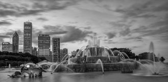 Buckingham fountain in Grant Park Royalty Free Stock Photography