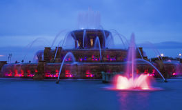 Buckingham Fountain Royalty Free Stock Images