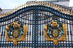 buckingham gates slotten Royaltyfri Bild