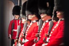 Buckingham guards Stock Photos