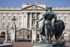 buckingham London pałac Fotografia Royalty Free