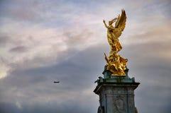 buckingham London pamiątkowy pałac Victoria Fotografia Royalty Free