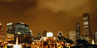 Buckingham Memorial Fountain Stock Image