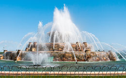 Chicago Buckingham Memorial Fountain Stock Images