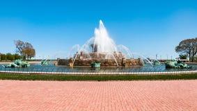 Chicago Buckingham Memorial Fountain Stock Photos