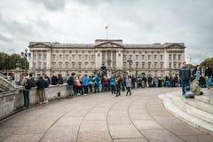 Buckingham Palace στο Λονδίνο, UK Στοκ φωτογραφία με δικαίωμα ελεύθερης χρήσης