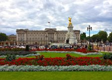Buckingham Palace το καλοκαίρι Στοκ Φωτογραφία