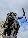 Buckingham Palace royaltyfri foto