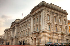 Buckingham Palace. In London, England. Home to the royal family Stock Photo