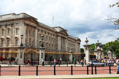 Buckingham Palace Lizenzfreies Stockfoto