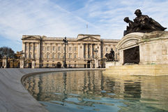 Buckingham Palace. In London, UK Royalty Free Stock Images