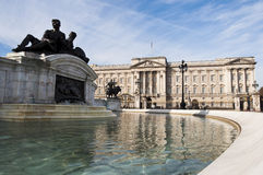 Buckingham Palace. In London, UK Stock Photos