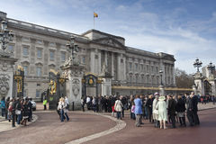 Buckingham Palace photo libre de droits