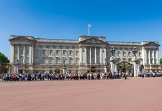 Buckingham Palace Photographie stock