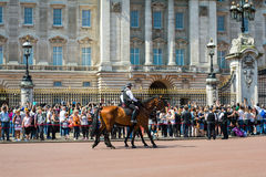 Buckingham Palace Fotografie Stock
