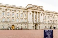 Buckingham Palace Royalty-vrije Stock Afbeelding