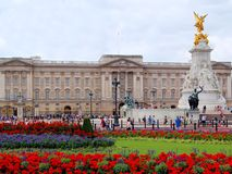 Buckingham Palace stockfotos