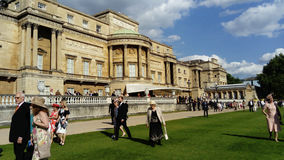 Buckingham Palace Arkivfoton