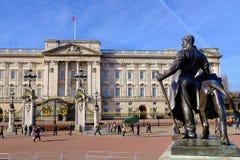 Buckingham Palace Foto de archivo libre de regalías