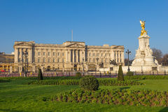 Buckingham Palace from afar Royalty Free Stock Photos