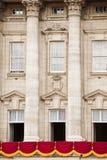 Buckingham palace balcony Stock Image
