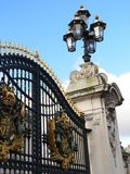 Buckingham Palace bramy. obraz stock