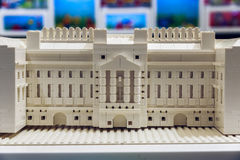 Buckingham Palace Built From LEGO Bricks Stock Image