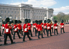 Buckingham Palace changing of the guard ceremony Stock Photography