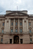Buckingham Palace da fachada, Londres, Inglaterra Imagem de Stock Royalty Free