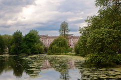 Buckingham Palace de façade, Londres, Angleterre image stock