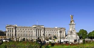 Buckingham Palace in de zomer Royalty-vrije Stock Afbeelding
