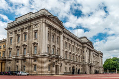 Buckingham Palace - East Front. Buckingham Palace is  located in the City of Westminster, the palace is a setting for state occasions and royal hospitality. It Royalty Free Stock Image