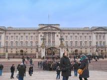 Buckingham Palace en Londres Fotos de archivo libres de regalías