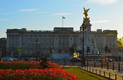 Buckingham palace. England, Great Britan, United Kingdom Royalty Free Stock Photography
