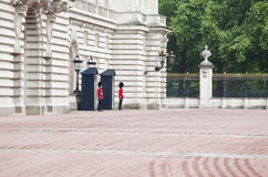 Buckingham palace entrance Royalty Free Stock Image