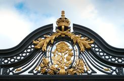 Buckingham Palace fence detail Royalty Free Stock Photo