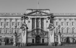 Buckingham Palace Front Gates Stock Images