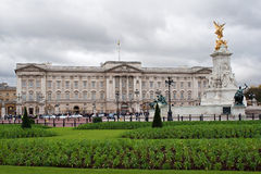 Buckingham palace and gardens Royalty Free Stock Photography