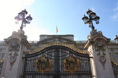 Buckingham Palace gate Royalty Free Stock Photography