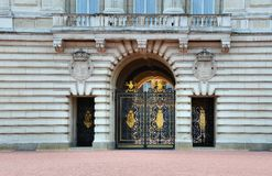 Buckingham Palace gate Stock Images