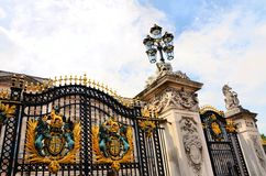 Buckingham Palace gate Stock Photos