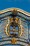 Buckingham Palace gate detail, London, England Royalty Free Stock Images
